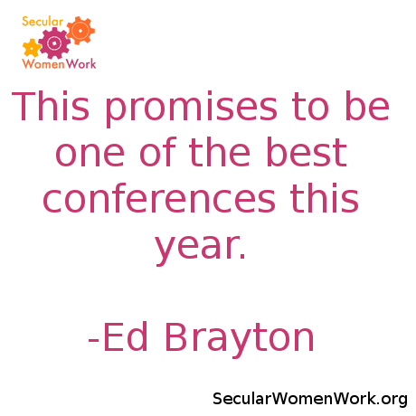 This promises to be one of the best conferences this year. - Ed Brayton